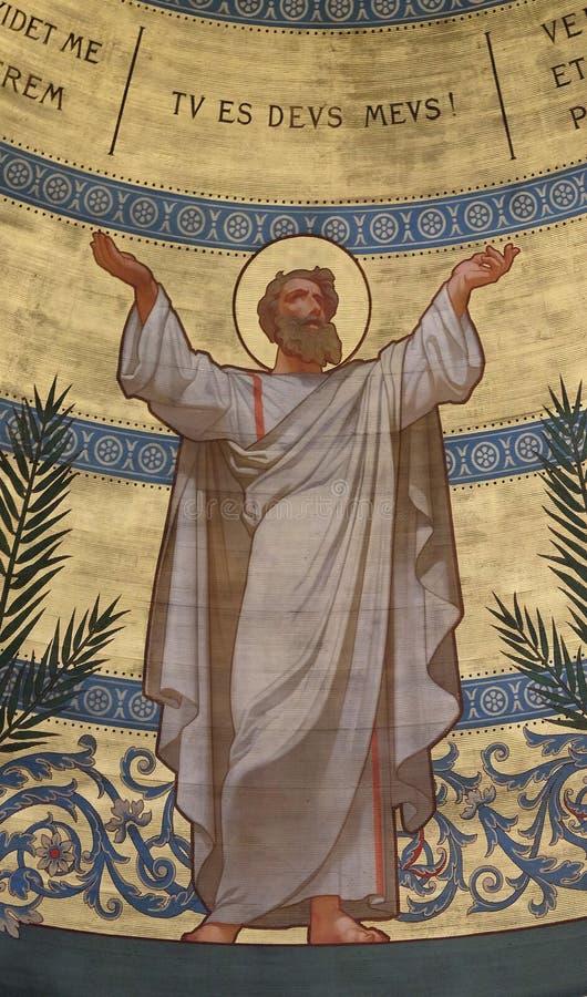 St Thomas kyrka för St Francis Xaviers i Paris arkivbild