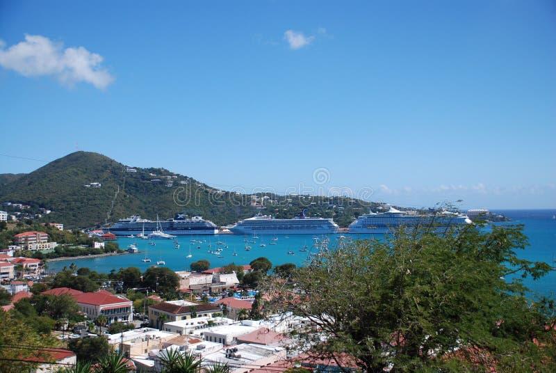 St Thomas; Le Isole Vergini fotografia stock