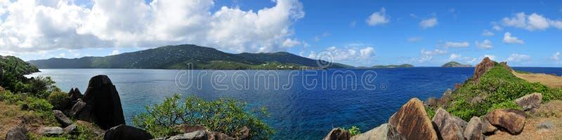 st thomas magens острова залива мы виргинские стоковая фотография rf