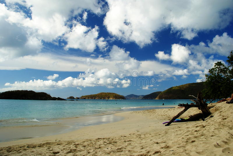 St Thomas USA Jungfruöarna royaltyfri foto