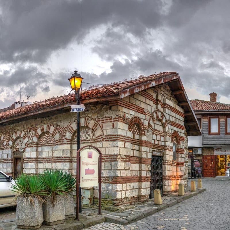 St Todor Church in Nessebar, Bulgaria stock images