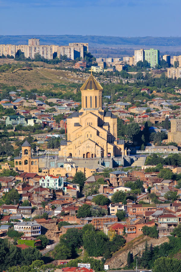 Download St. Trinity Cathedral In Tbilisi Stock Photo - Image: 27315092