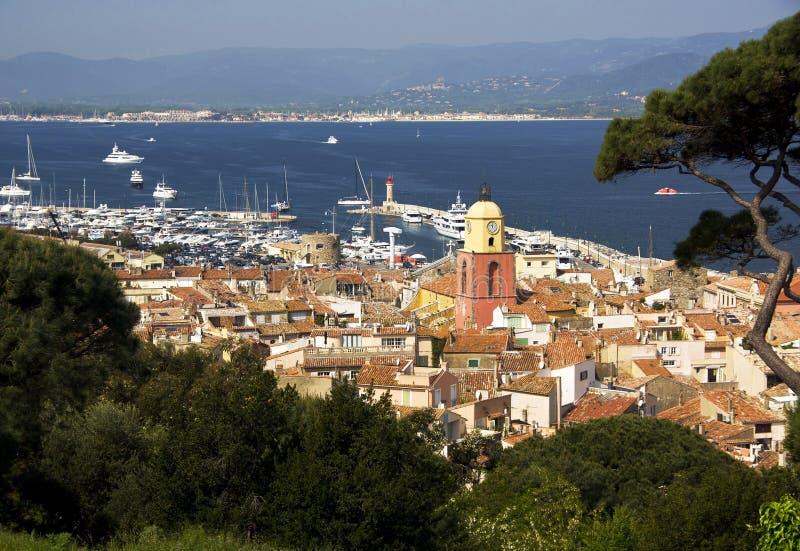 St Tropez, Франция стоковая фотография rf
