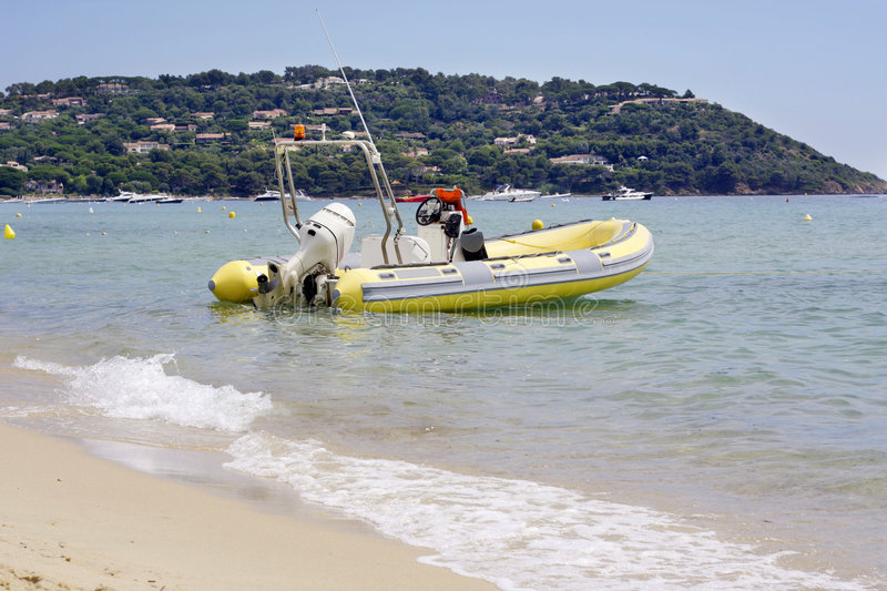 Download St Tropez Rescue Boat Royalty Free Stock Photo - Image: 7224095