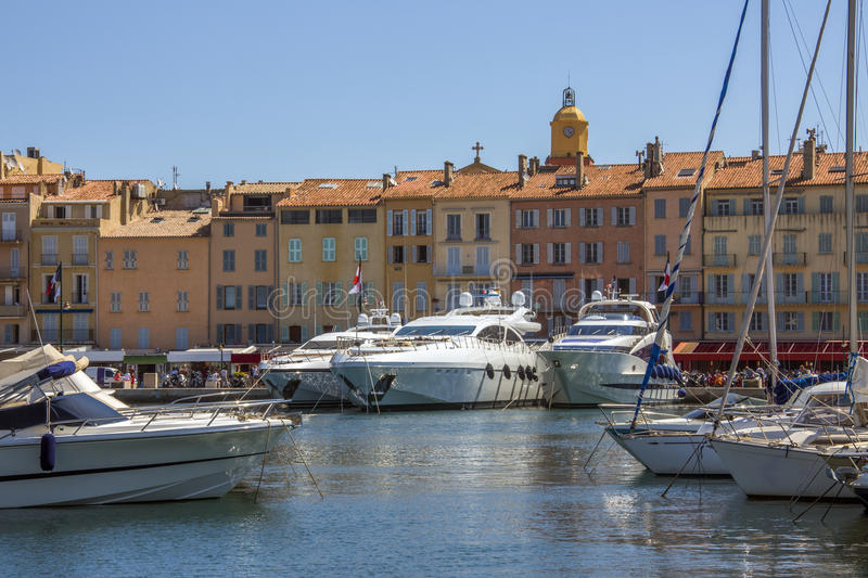 St Tropez - South of France stock photography
