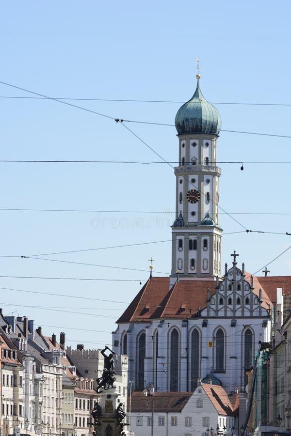 St Ulrich Basilica fotografie stock