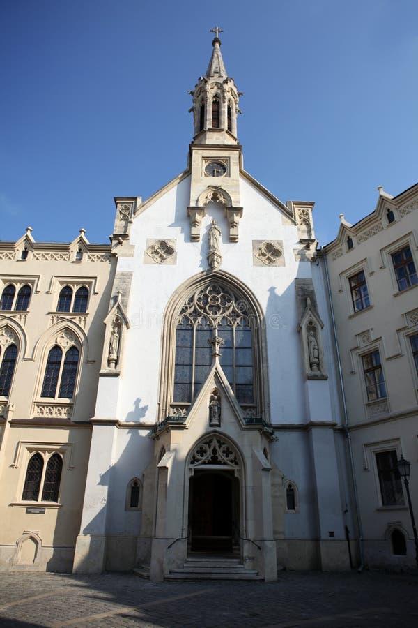 St. Ursula Catholic Church in Sopron royalty free stock photo