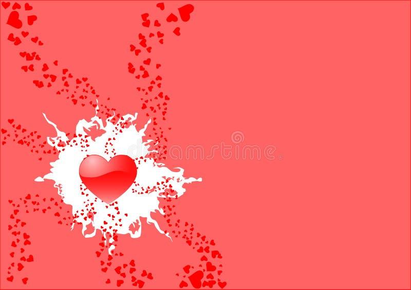 st-valentin för 3 kort s royaltyfri illustrationer