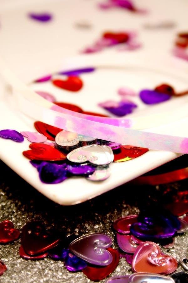 st-valentin för hjärtor s royaltyfri foto