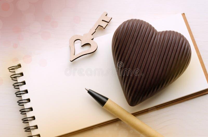 St Valentine ` s Dagkaart stock foto's
