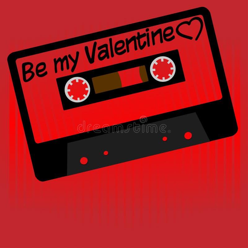 St. Valentine's Day Card royalty free illustration