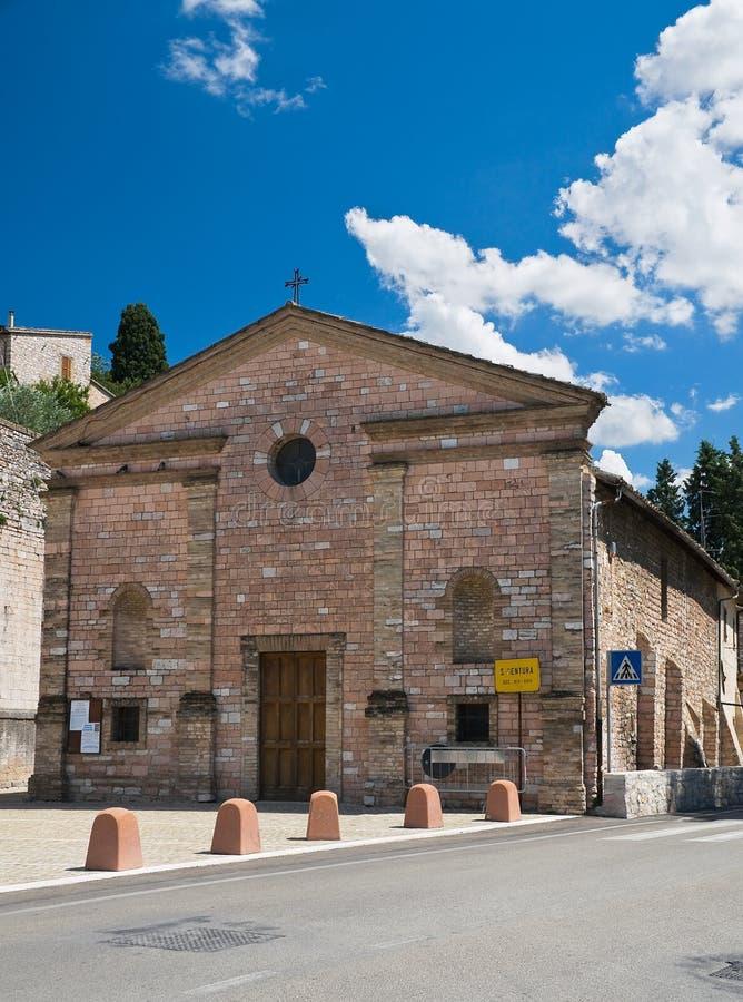 Download St. Ventura Church. Spello. Umbria. Stock Photo - Image: 16033864