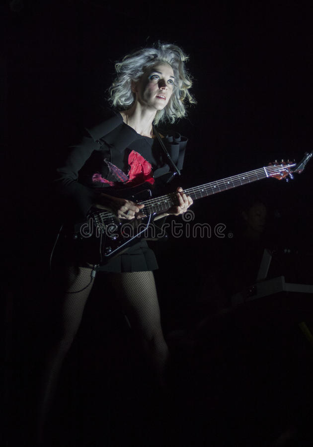 Download St Vincent editorial stock photo. Image of stage, guitar - 38173728