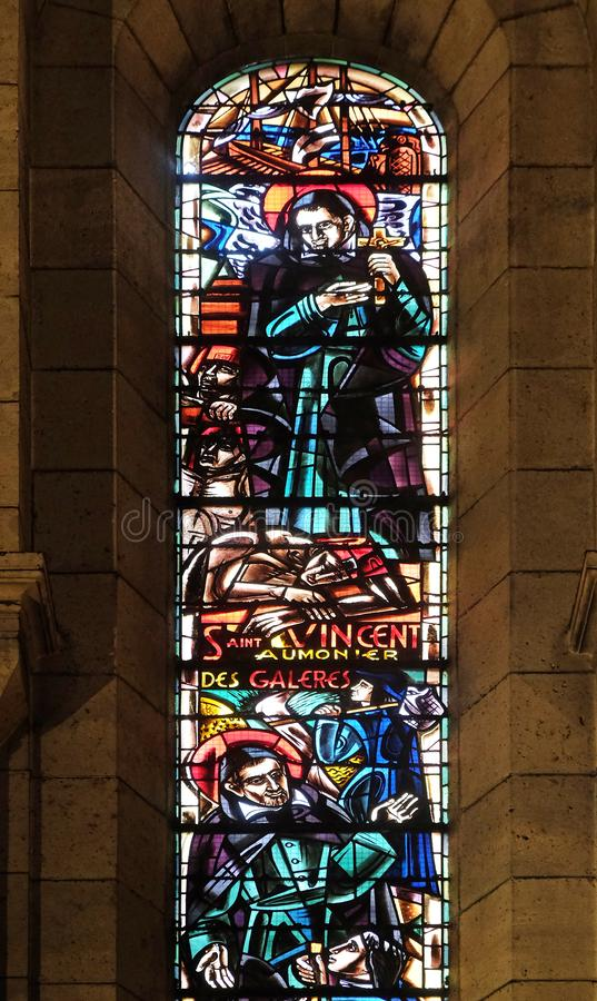 St Vincent De Paul kapelan galery obraz royalty free