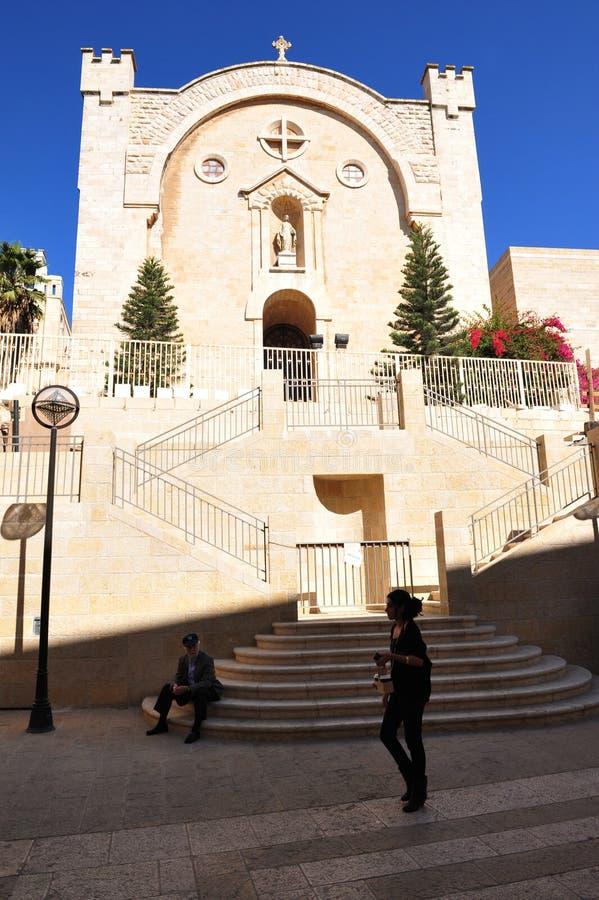 Download St. Vincent De Paul Monaster W Jerozolimski Izrael Zdjęcie Stock Editorial - Obraz złożonej z święty, architektury: 28963258