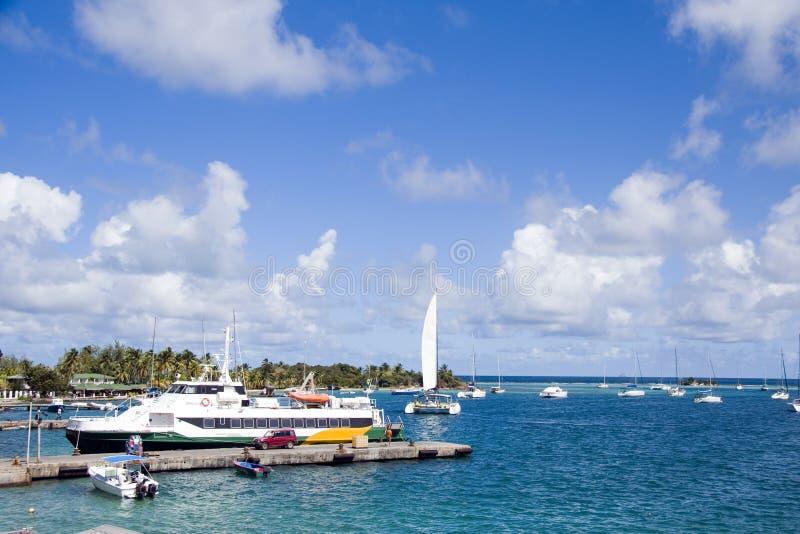 St Vincent dell'isola del sindacato di Clifton del porto fotografia stock libera da diritti