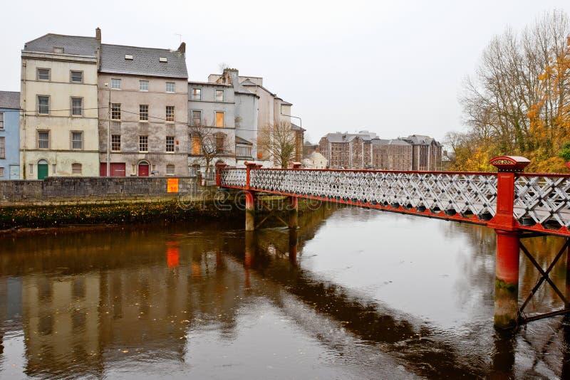 St. Vincent S Footbridge. Cork, Ireland Royalty Free Stock Image