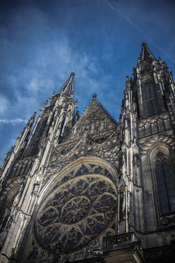 St Vit Cathedral Prague royalty-vrije stock afbeelding