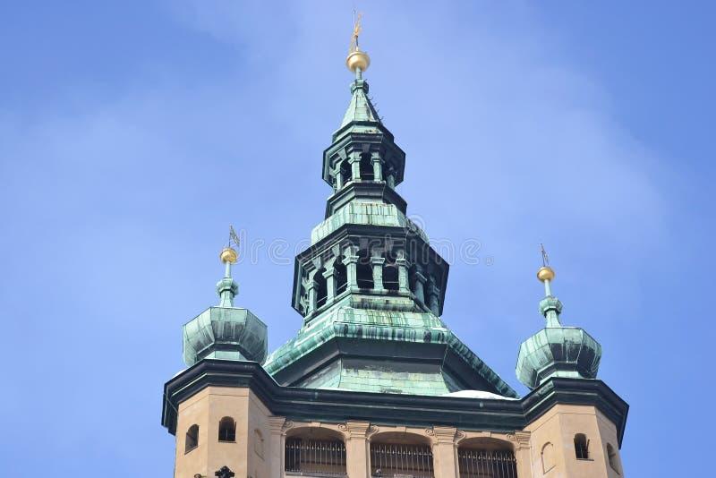 St. Vitus大教堂 免版税库存图片