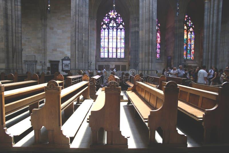 St Vitus大教堂 库存照片