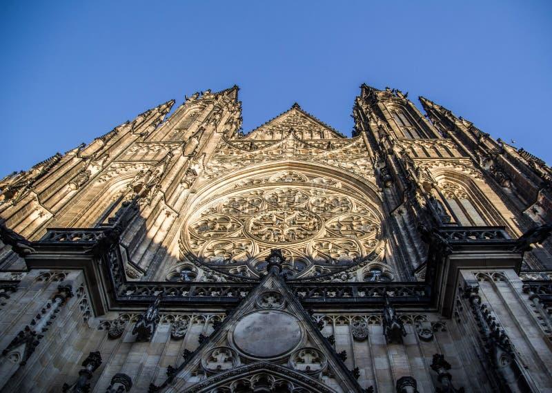 St Vitus大教堂 免版税图库摄影