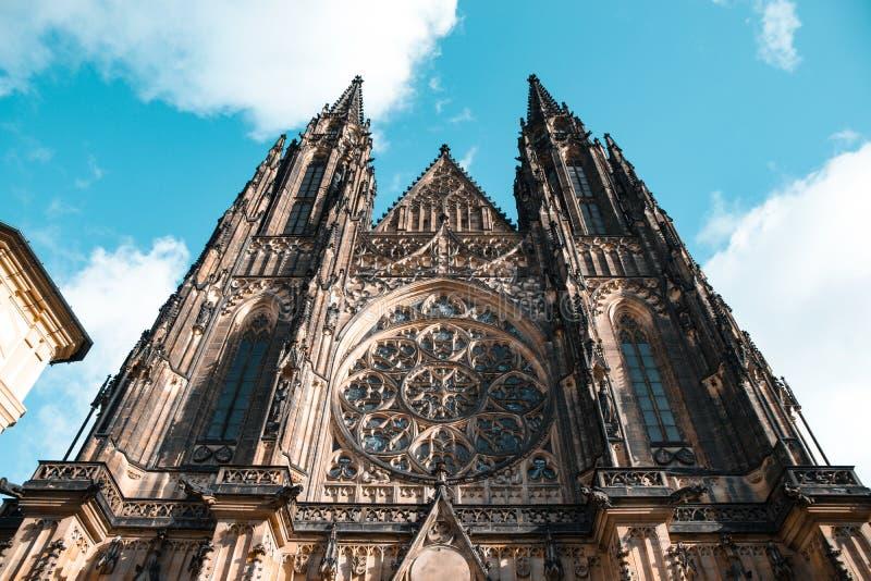 St Vitus Cathedral stockbilder