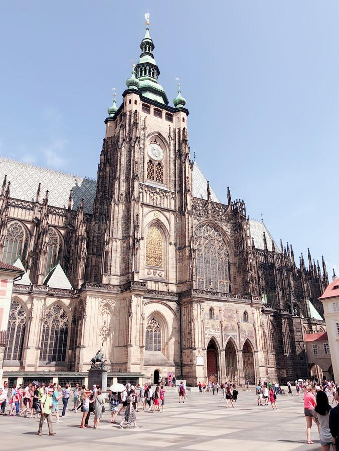 St Vitus Cathedral image libre de droits