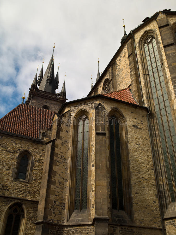 Download St. Vitus Cathedral stock photo. Image of front, brick - 23440594