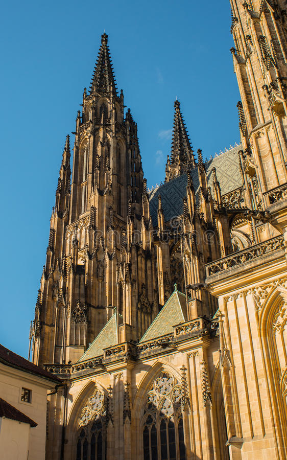 St. Vitus Cathedral arkivfoton