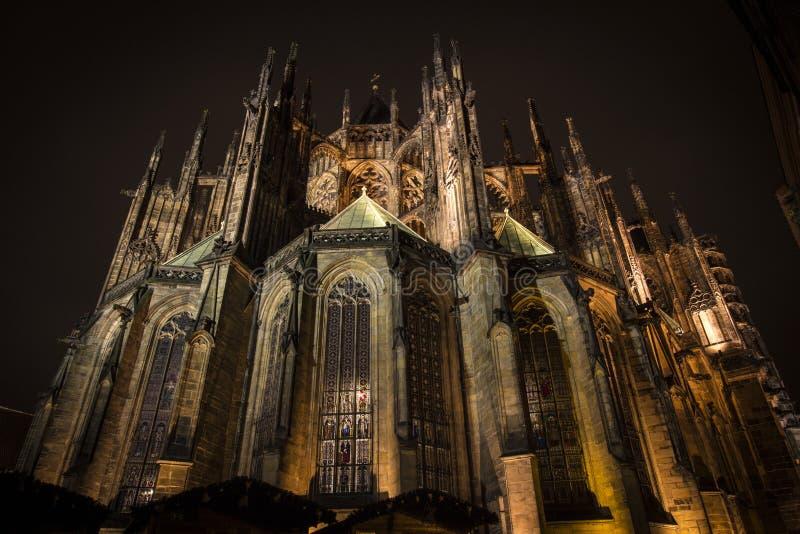 St Vitus Cathedral imagem de stock royalty free