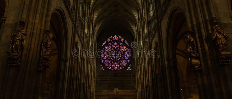 St Vitus Cathedral IV imagens de stock