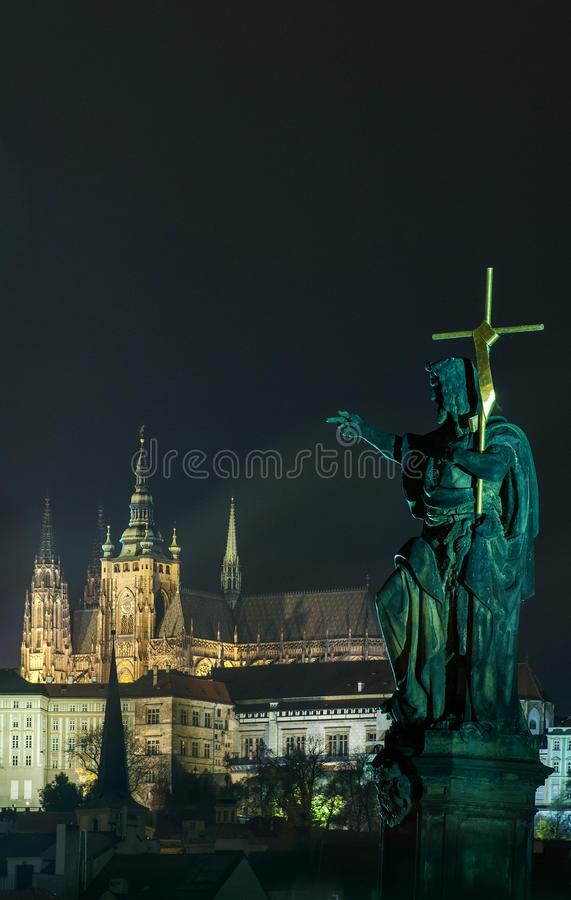 St Vitus Cathedral stock photos