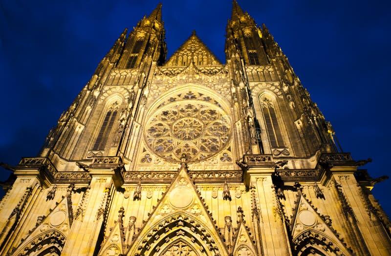 St Vitus en la noche foto de archivo libre de regalías