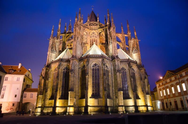 St Vitus katedra (Katedrà ¡ losu angeles svatého VÃta) zdjęcia royalty free