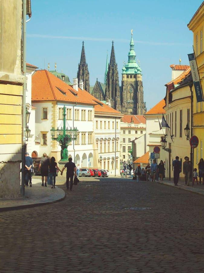 St Vitus katedra Praga zdjęcie stock