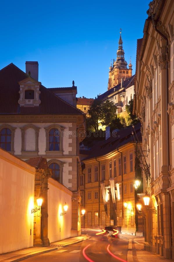 St Vitus kathedraal, Praag royalty-vrije stock afbeelding