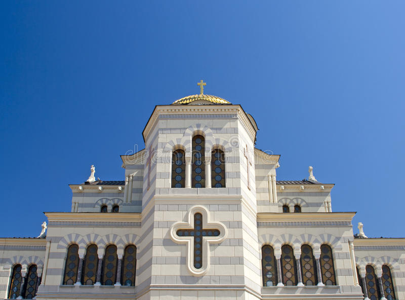 The St. Vladimir Cathedral In Chersonesus Royalty Free Stock Image