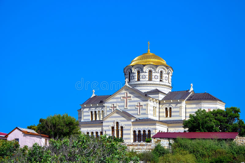 St. Vladimir's Cathedral stock photography