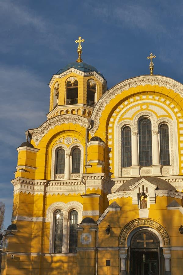 St Volodymyr Cathedral in Kiev, Ukraine stock image