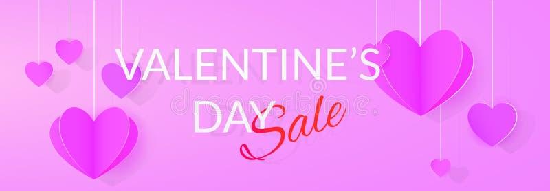 Download St Walentynek Dnia Sprzedaży Plakat Ilustracja Wektor - Ilustracja złożonej z zakup, świętowanie: 106904023