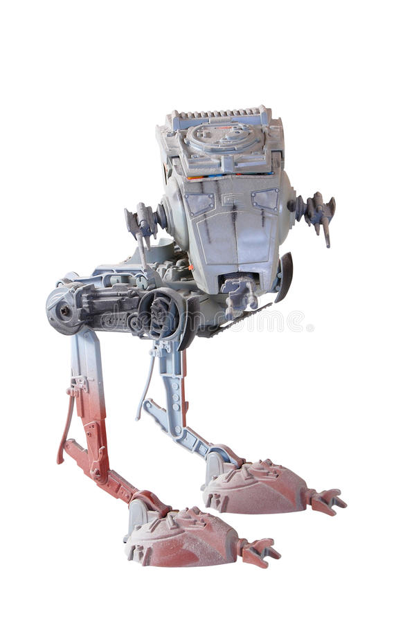 AT-ST WALKER royalty free stock photo
