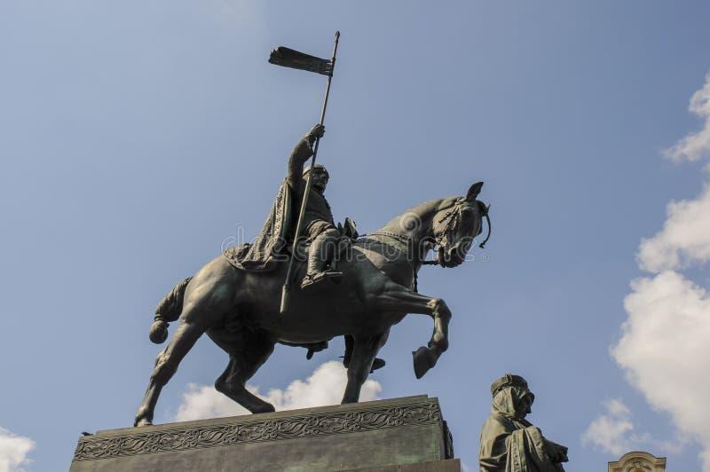 St Wenceslas Statue fotografie stock