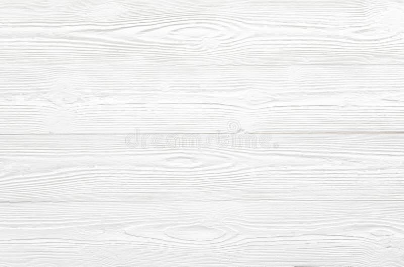 Stała czysta biała drewniana tekstura z naturalnym pasiastym wzorem dla b obraz stock