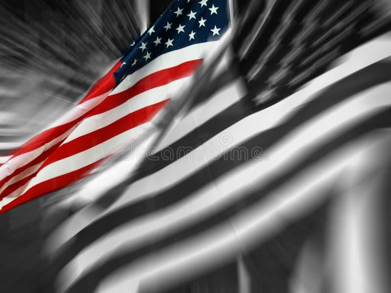 stań bandery ilustracja wektor