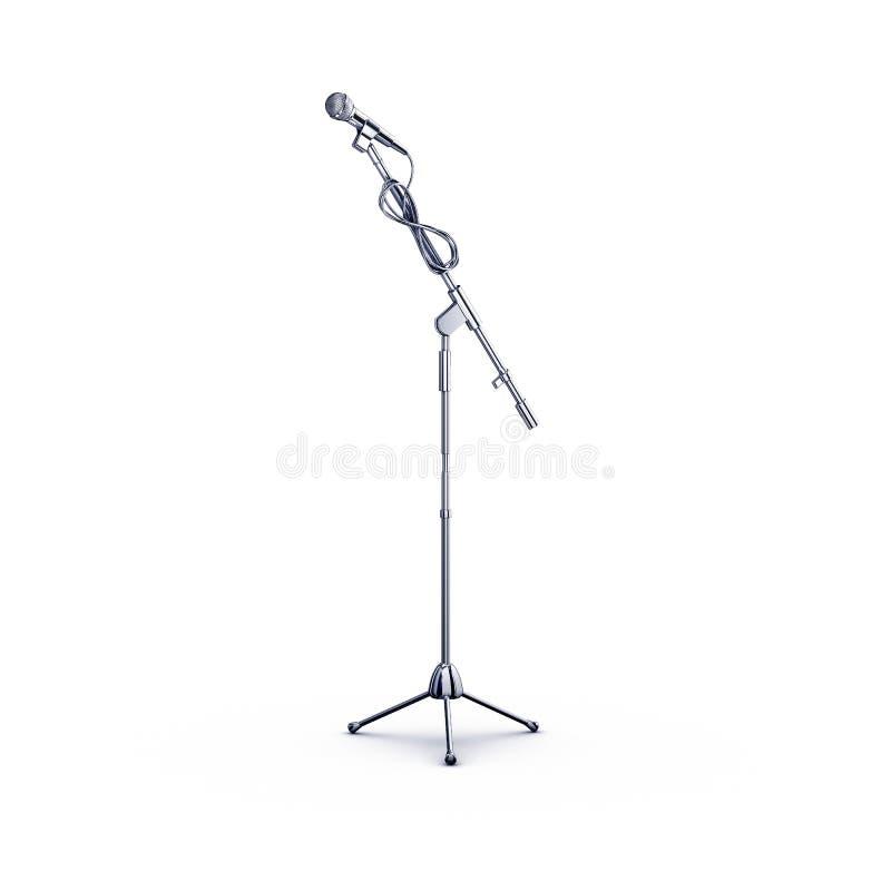 stań mikrofonu royalty ilustracja
