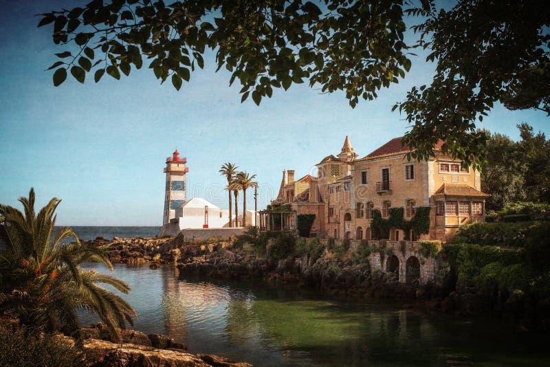 Sta Marta Lighthouse imagens de stock