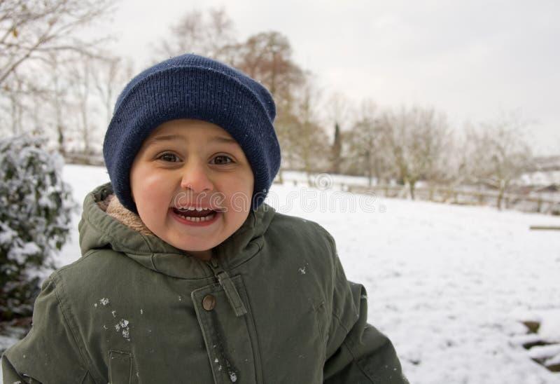 Sta nevicando! fotografie stock libere da diritti