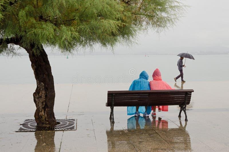Sta Piovendo Fotografia Editoriale