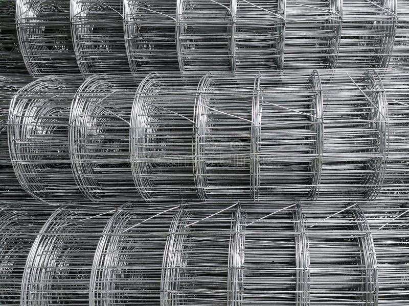 Staalbar die voor bouwconstructie voorbereidingen treffen royalty-vrije stock foto's