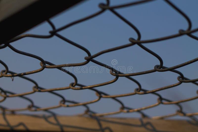 Staalgrating achtergronden stock fotografie